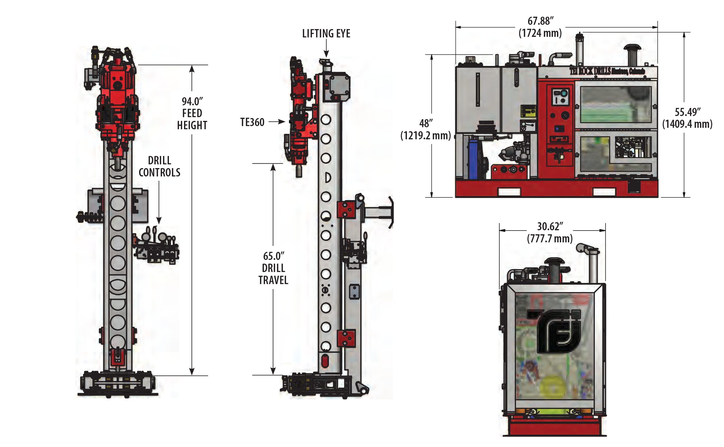 PD360 PORTABLE DRILLING SYSTEMS