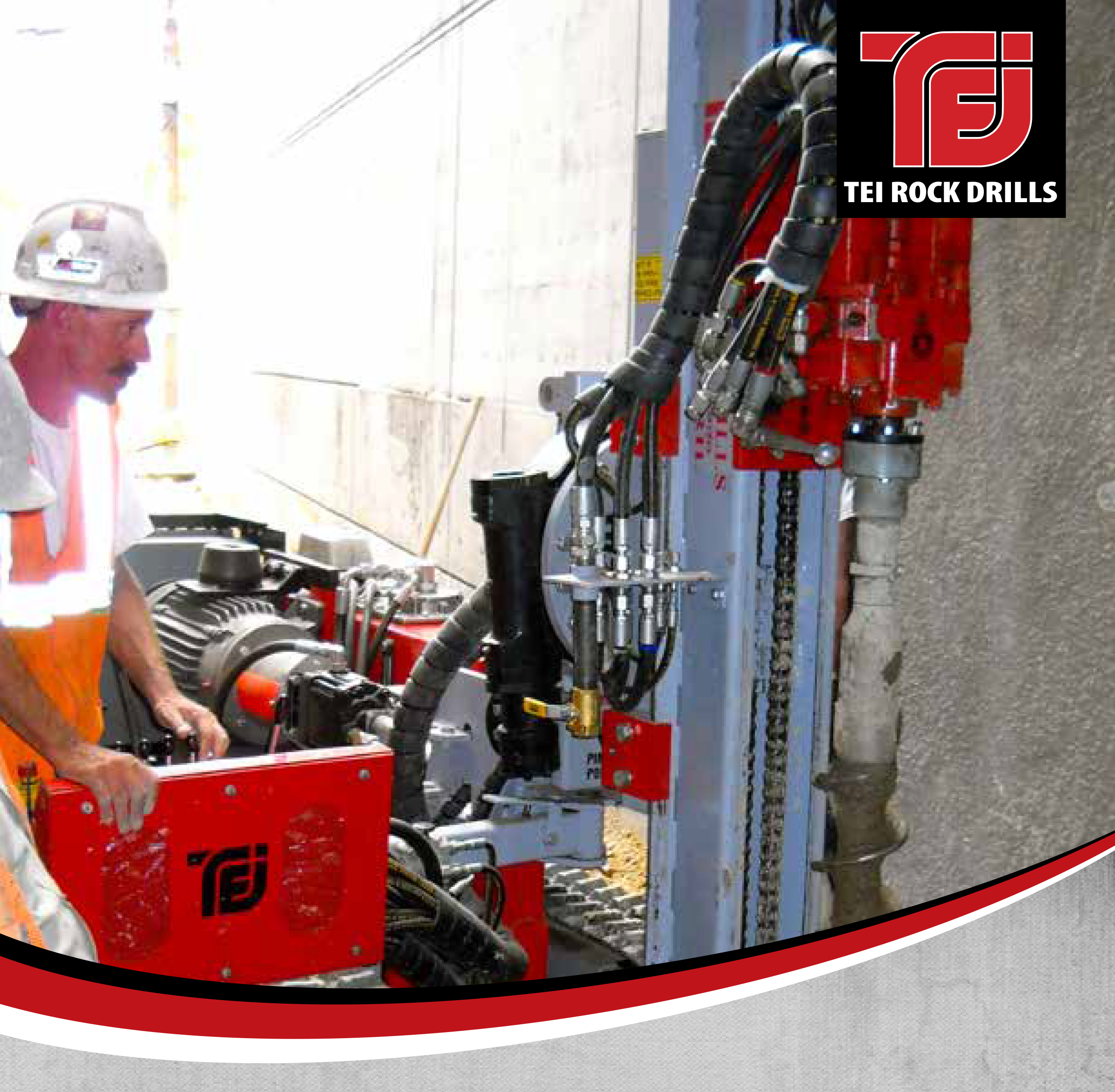 TD50 ELECTRIC / HYDRAULIC LIMITED ACCESS DRILL